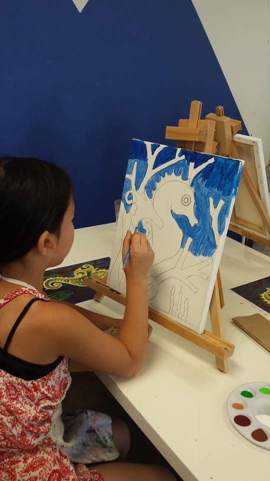 painting at Young in Art
