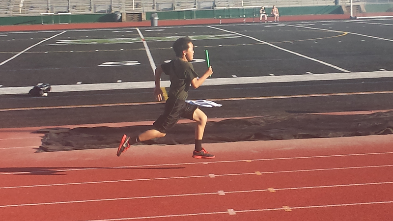 5.7.15. Finishing up the relay of the 4x400