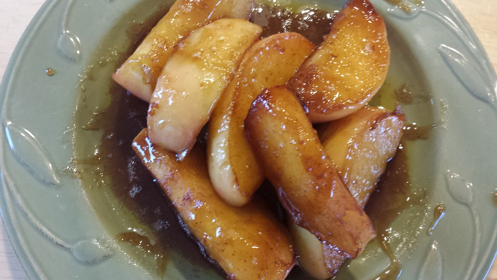10.31.15 ethan made brown sugar apples