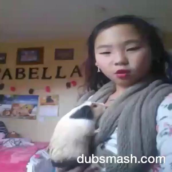 9.5.15 isabella doing dubsmash
