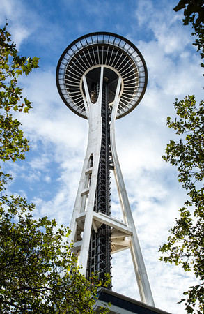 Seattle Space Needle in Seattle Center