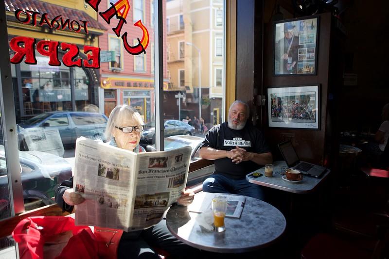 Cafe Trieste - North Beach, San Francisco