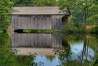 Old Sturbridge Village's Covered Bridge