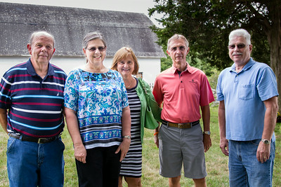 Charlie, Kathy, Betty, Marty, and Dave...Cousins!