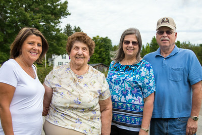 Marianne, Aunt Sophie, Kathy and Dave...