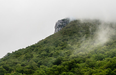 Where The Old Man of the Mountain used to be...