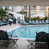 Renisance plaza pool area