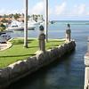 Marina boat access slip