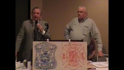Atty Brian O'Keefe and Pres Don Taylor
