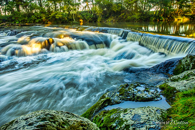 Rainbow Falls river cascade