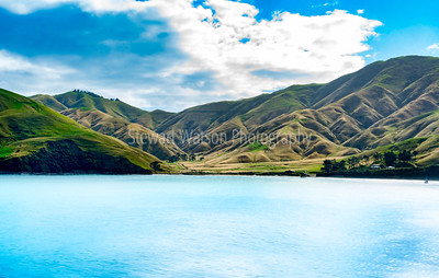 Magnificent coastal scenery in the Marlborough Sounds