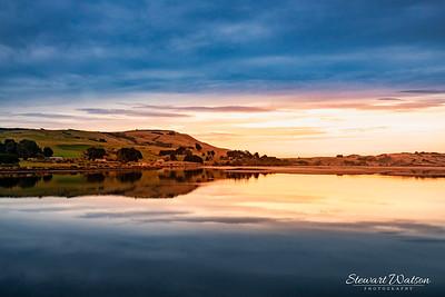 Early morning at Catlins River , Jacks Bay  Pounawea