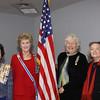 Wanda Palladino, Linda Brown Jones(state regent), Beverlee Wightman, Patricis Jobe