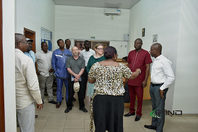 New USAID Nigeria COR for MARKETS II Project, Melanie (Tor) Edwards and her team's visit to PIND EDC Warri