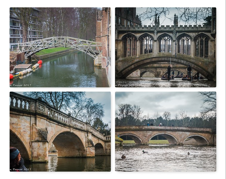 23-Jan-17 Bridges of the River Cam
