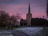 27-Dec-17 Sunset at Earl Shilton.
