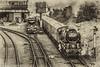 11-Oct-17 A brace of Battle of Britain class locomotives.