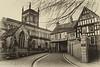 2-Jan-17 St Mary De Castro Church and Castle House, Leicester