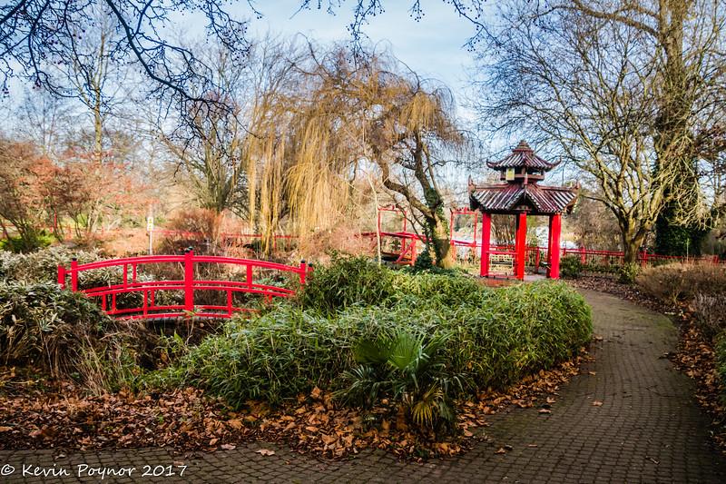 5-Jan-17 Japanese Garden, Abbey Park, Leicester