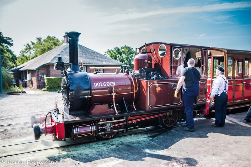 19-Jun-17 No.2 Dolgoch at Tywyn Wharf Station, Talyllyn Railway