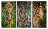9-May-18 Wood Carving Triptych