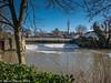 6=Feb-18 Suspension Bridge over the River Leam, Jephson Gardens, Leamington Spa.