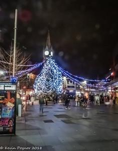 12-dEC-18 Christmas Tree, Leicester City Centre.