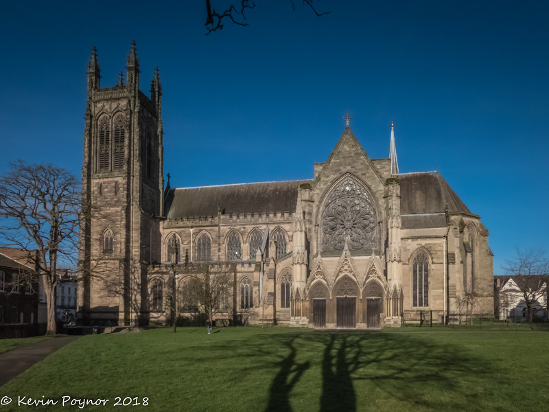 30-Jan-18 All Saints Church, Royal Leamington Spa.