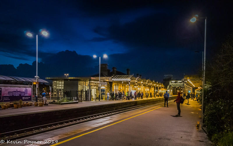 26-Nov-19 Evening at Loughborough Midland Station.
