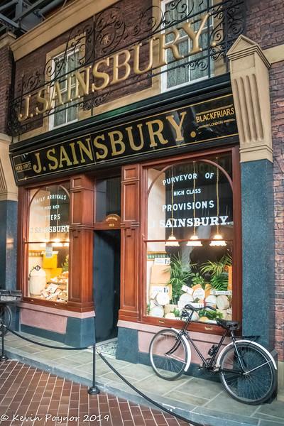 30-Nov-19 Sainsbury's Store Front in Beaulieu Motor Museum