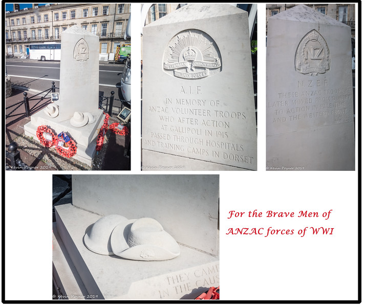 12-Nov-19 ANZAC memorial on Weymouth Seafront.