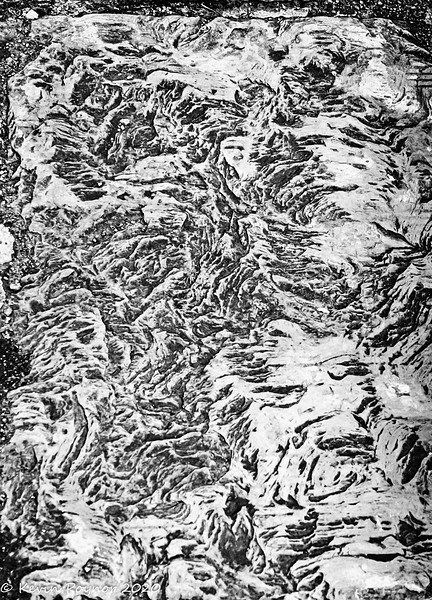 17-Mar-20 Abstract texture in stone slab.