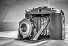 21-Dec-20 1950's Agfa Isolette folding camera.