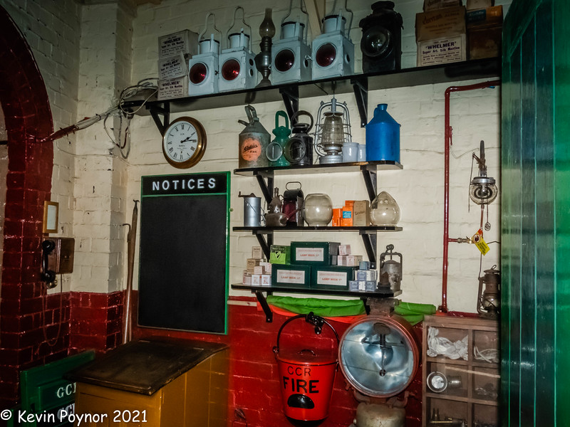 26-Sep-21 The Porters Office - Rothley Station.