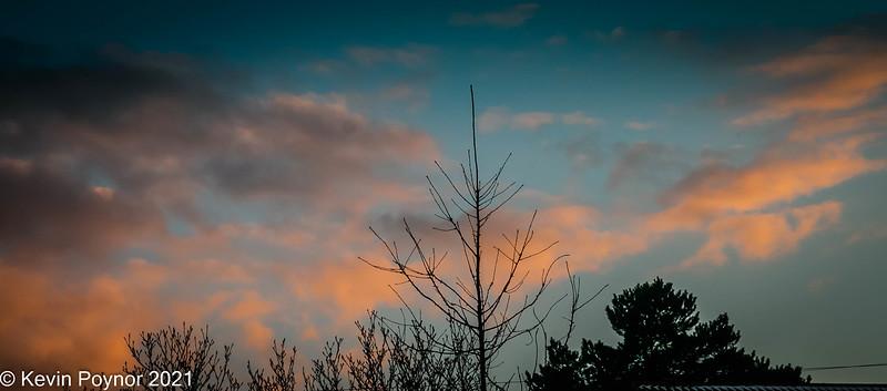 18-Feb-21 Evening Sky
