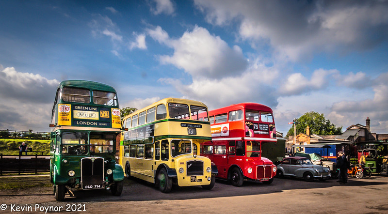 14-Oct-21 Leicester Transport Heritage Trust Bus and Train Spectacular - Quorn Station Oct 2021
