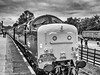"""9-Sep-21 D9019 """"Royal Highland Fusilier"""" at Quorn and Woodhouse Station."""
