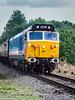 20-Sep-21 English Electric Type 5 (BR Class 50) Locomotive No. 50017.