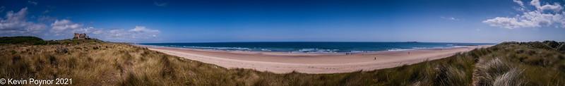 13-Feb-21 Bamburgh Beach, Northumberland.