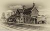 8-Feb-21 Highley Station, Severn Valley Railway.