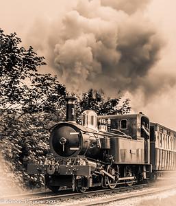 "25-Aug-15 Isle of Man Steam Railway No. 13 "" Kissack"""
