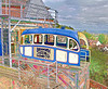 7-May-13  Bridgnorth Funicular Railway. The original image was a bit busy so I used Topaz Simplify to produce this sketchbook look.