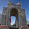 Leicester War Memorial. <br /> <br /> 16 frame panorama.