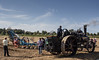 "18-Sep-12<br /> <br /> Another Fowler K7 Ploughing engine ""Sunset"" with plough. Bedfordshire Steam and Country Fair"