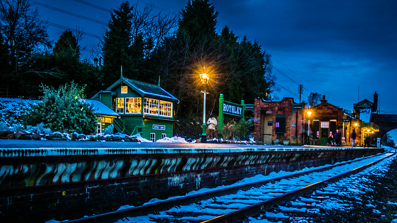 Evening at Rothley Station