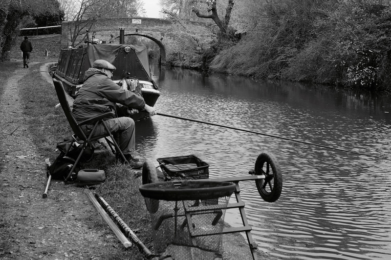 Fishing On The Grand Union Canal