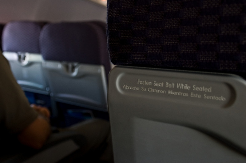 Fasten Seat belt-8987