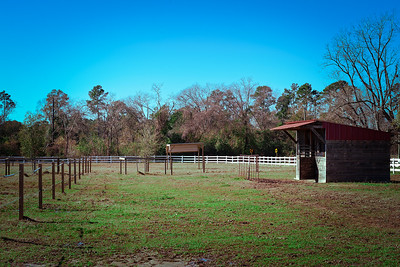 Horse shed-