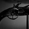 Bullock Museum flintlock pistol-0864