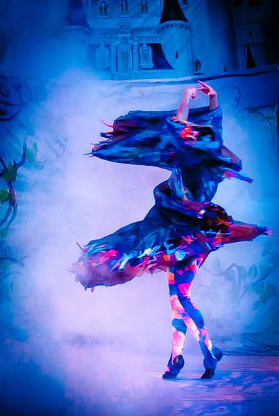 In the turbulent swirl-1395